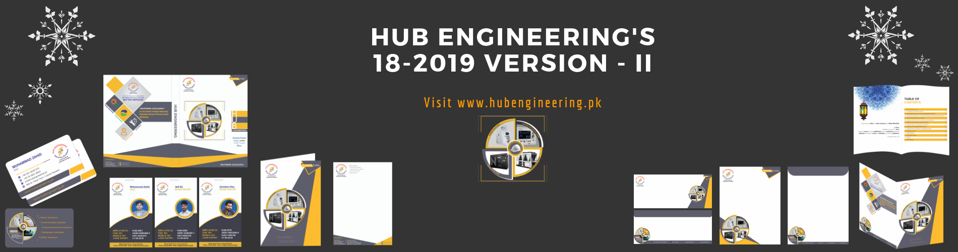 Hub Engineering's Stationery Version 18-2019